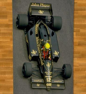 "Ayrton Senna Beach Towel 55/"" NEW Summer Formula 1 F1 Grand Prix Champion #5"