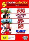 Childrens Comedy Collection - Firehouse Dog / Dunston Checks In / Babys Day Out / Getting Even With Dad / Fat Albert (DVD, 2010, 5-Disc Set)