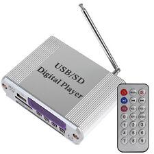 Digital FM Radio MP3 SD USB Audio Player Mini Car Motorcycle Power Amplifier -US