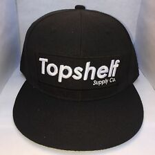 Topshelf Supply Co Bar Logo SnapBack Hat In Black Diamond Supreme Obey