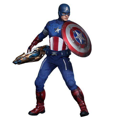 Neu Film Masterpiece Avengers Captain Captain Captain America 1 6 Actionfigur Hot Toys Japan  | Discount  11232c