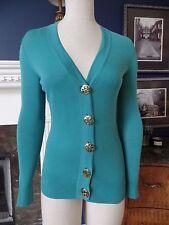TORY BURCH Button Front 100% Cotton Cardigan Sweater XXS