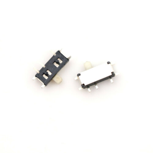 20pcs Mini Slide Switch On-OFF 2Position Micro Slide Toggle Switch SMD YH