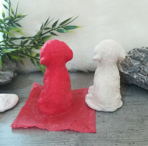 Handgemachte Latexgießform Gießform Betongießform für Beton Hund 01