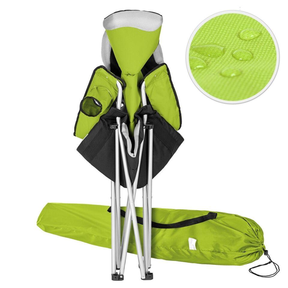 2 Campingstole polstret grøn