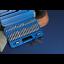 Offre spéciale Mixtes Torx étoile Spline Hex Socket Bit Set 3//8 1//2 DRIVE avec étui