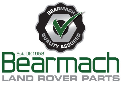 96-06 Land Rover Freelander 1 Esteras de goma Reposapiés delantero par de-Bearmach