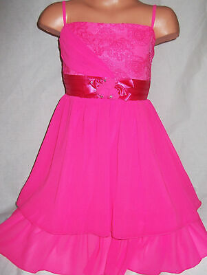 GIRLS BLACK LACE DIAMONTE ROSETTE TRIM SPECIAL OCCASION PRINCESS PARTY DRESS