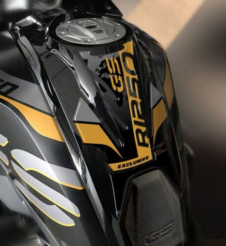 Tankpad 3D Schutz Tank Motorrad Kompatibel BMW GS R1250 Exklusiv