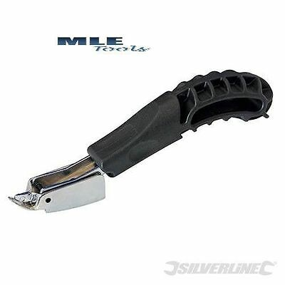 Silverline Staple Remover hobby craft hand tool upholstery DIY woodwork 250401