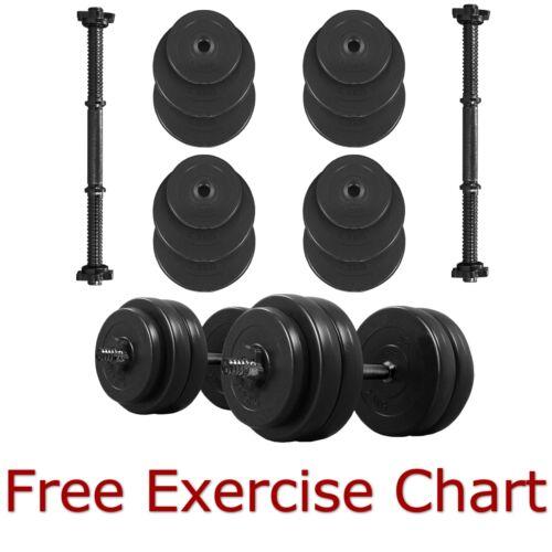 Set Manubri Pesi Allenamento Con I Esercizi Di Fitness Palestra Casa Bicipiti
