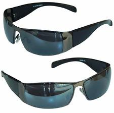 GANGSTER SONNENBRILLE BLACK Schwarz Motorradbrille Sunglasses  M 27