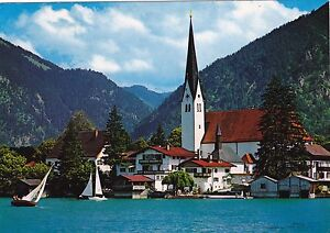 Rottach-Egern-am-Tegernsee-Ansichtskarte-gel