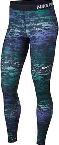 Multi Casual Pro Leggings Caldo L M Nike Inchiostro Verde Striscia Xl Aderente gxnfSUUBv