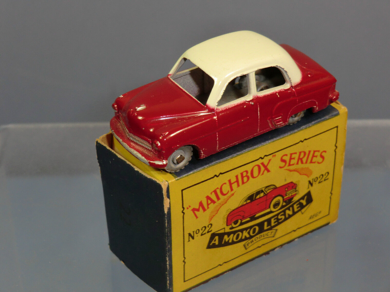 MATCHBOX MOKO LESNEY MODEL No.22a    VAUXHALL CRESTA      VN MIB (