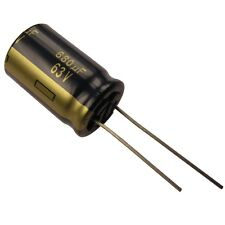 2 Elko Panasonic FC 680uf 63v 105 ° C low impedance CONDENSATORE Radiale 854376