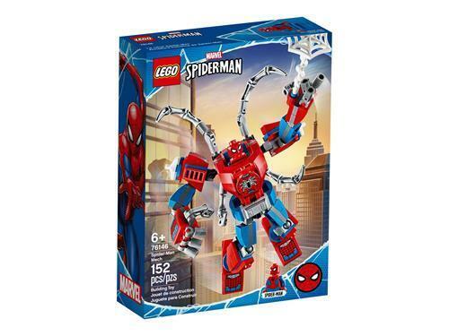 mech spider-man LEGO Spider-man set costruzioni 76146