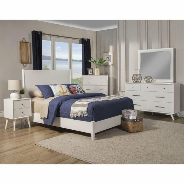 Global Furniture North 2 Drawer Nightstand In Zebra Wood W Gold