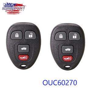 Key 2 For 2006 2007 2008 2009 2010 2011 2012 2013 Chevrolet Impala Remote Fob