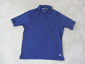 Nat-Nast-Polo-Shirt-Adult-Medium-Navy-Blue-White-Luxury-Originals-Rugby-Mens