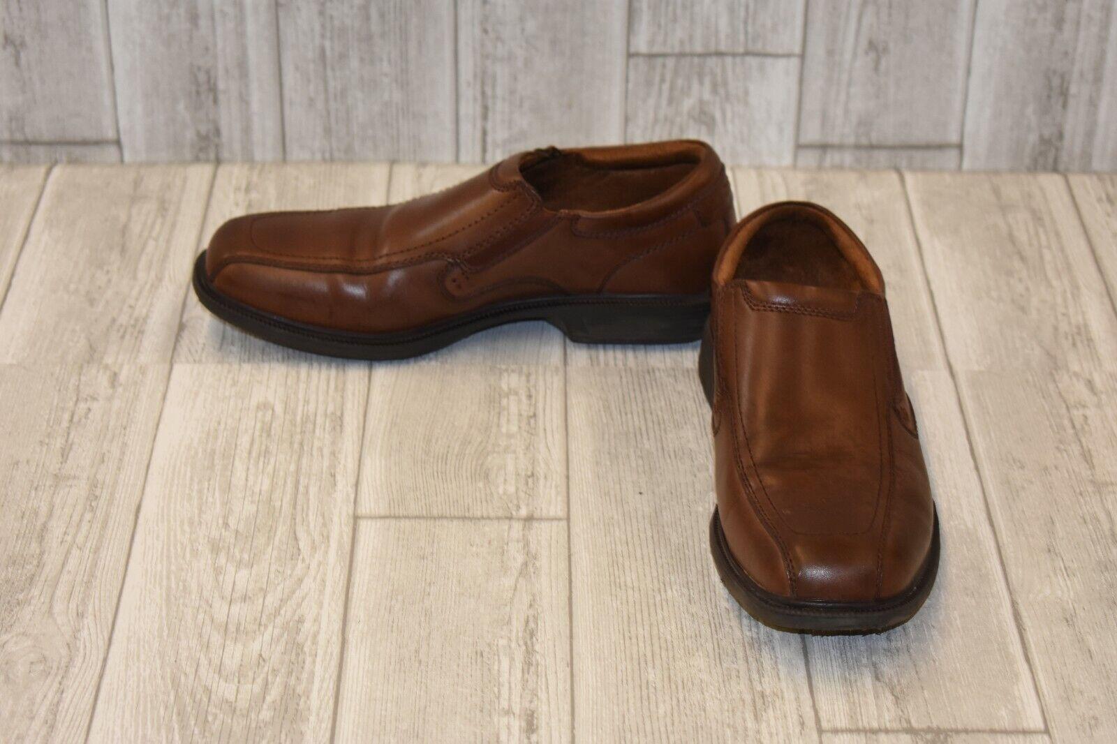 Nunn Bush Bleeker St Slip On, Men's, Size 9 W, Brown