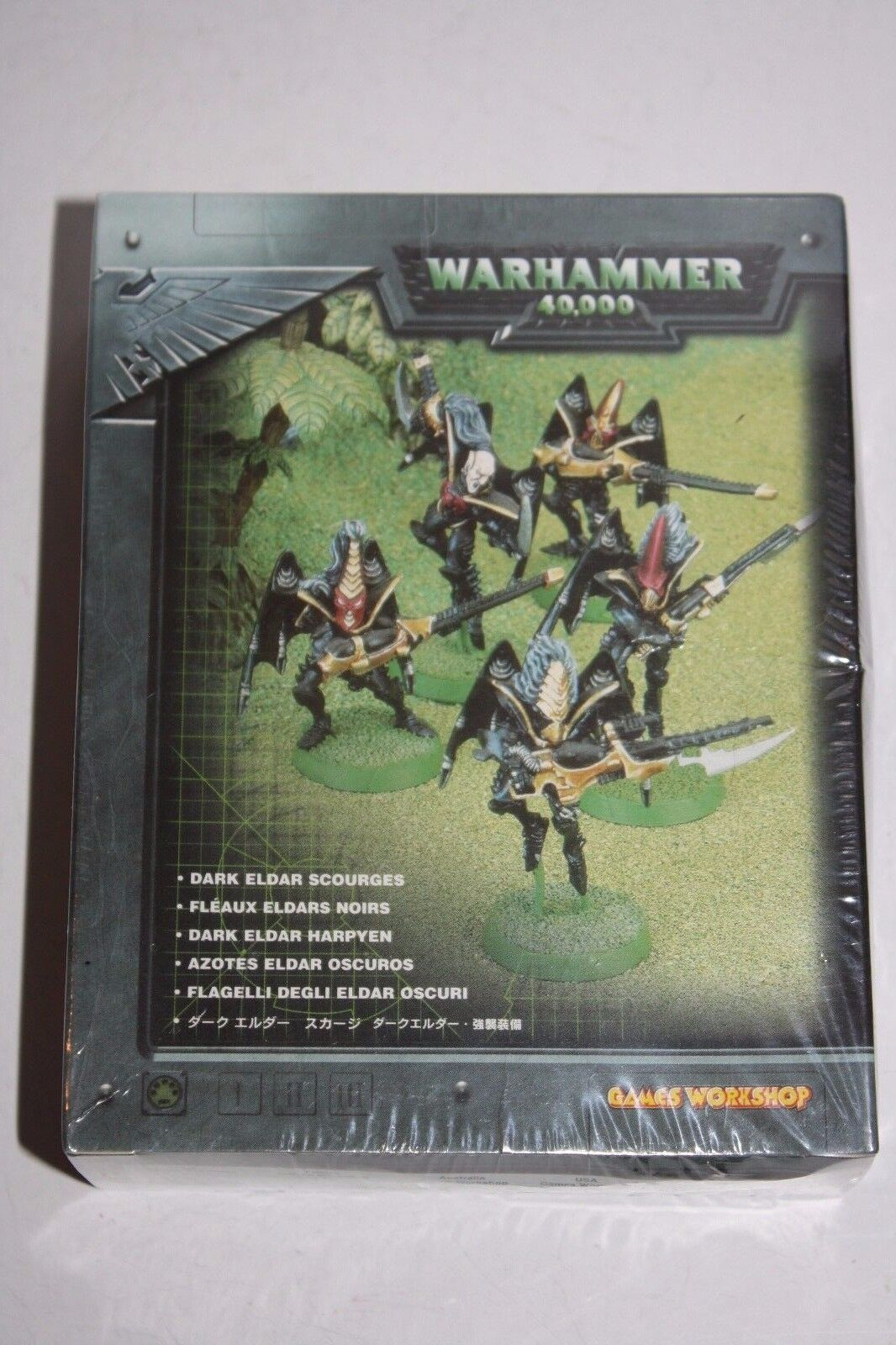 NEW IN SHRINK  VERY RARE  Warhammer 40k OOP Dark Eldar Metal Scourges Box Lot