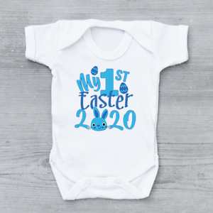 My-1st-First-Easter-2020-Easter-Bunny-Boys-Baby-Grow-Bodysuit-Baby-vest