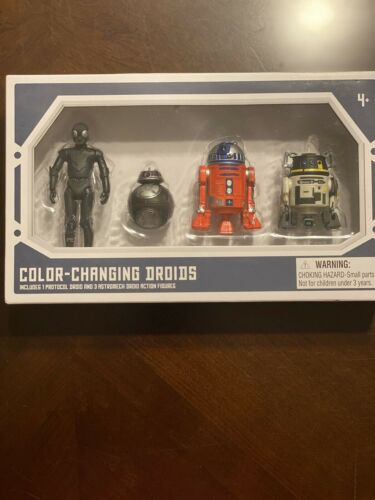 "Star Wars Galaxy/'s Edge Color Changing 3.75/"" quatre Droid Depot Action Figures #2"