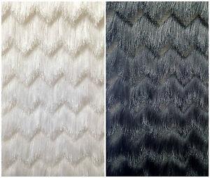 Beautiful Image Is Loading Fine Fringe Zig Zag Pattern On Polyester Spandex