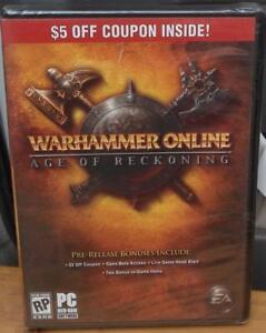 Warhammer Online Age Of Reckoning Brand New In Package Rp Pc