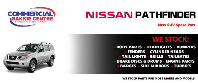 Nissan Pathfinder Parts and Spares For Sale.