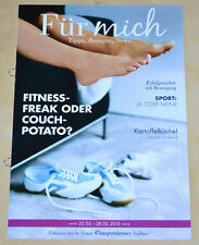 Weight Watchers Meine Woche 22.2 - 28.2 Für Mich ProPoints 2015 Wochenbroschüre