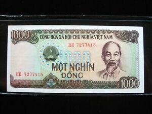 Vietnam 1000 Dong 1987 P102 Viet Nam Cu 15 Bank Currency Banknote Money Ebay