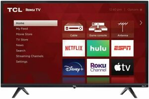 """TCL 32S335 32"""" 3-Series 720p HD LED Smart Roku TV with 3 HDMI"""