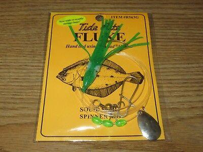 1 FLUKE RIGS FLATFISH TIDE RITE R563G FLOUNDER SALTWATER RIG FISHING MUSTAD