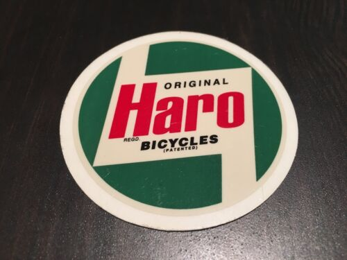 NOS VINTAGE ORIGINAL HARO BICYCLES BMX STICKER DECAL