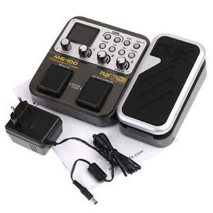 nux mg 100 electric guitar multi effects pedal processor efx amp eq mixer 6425725409053 ebay. Black Bedroom Furniture Sets. Home Design Ideas