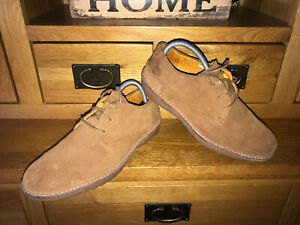 TIMBERLAND-EARTHKEEPERS-SHOES-UK-8-5-EUR-43-LOW-CHUKKA-LEATHER-BOOTS-DESERT-VGC