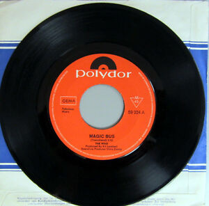 Single-THE-WHO-PROMO-MAGIC-BUS-RARITAT-1968