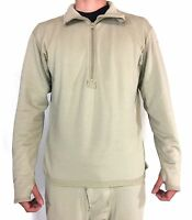 Polartec Thermal Military Shirt, Ecwcs Mid Weight Fleece Level 2, Waffle Top
