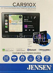 "NEW Jensen CAR910X 1-DIN Digital Media Car Stereo w/ 9"" Touchscreen, CarPlay"