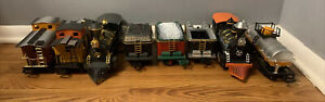 Lot of 8 1986 New Bright Ind Co Train Locomotives From Battery Operated Railroad