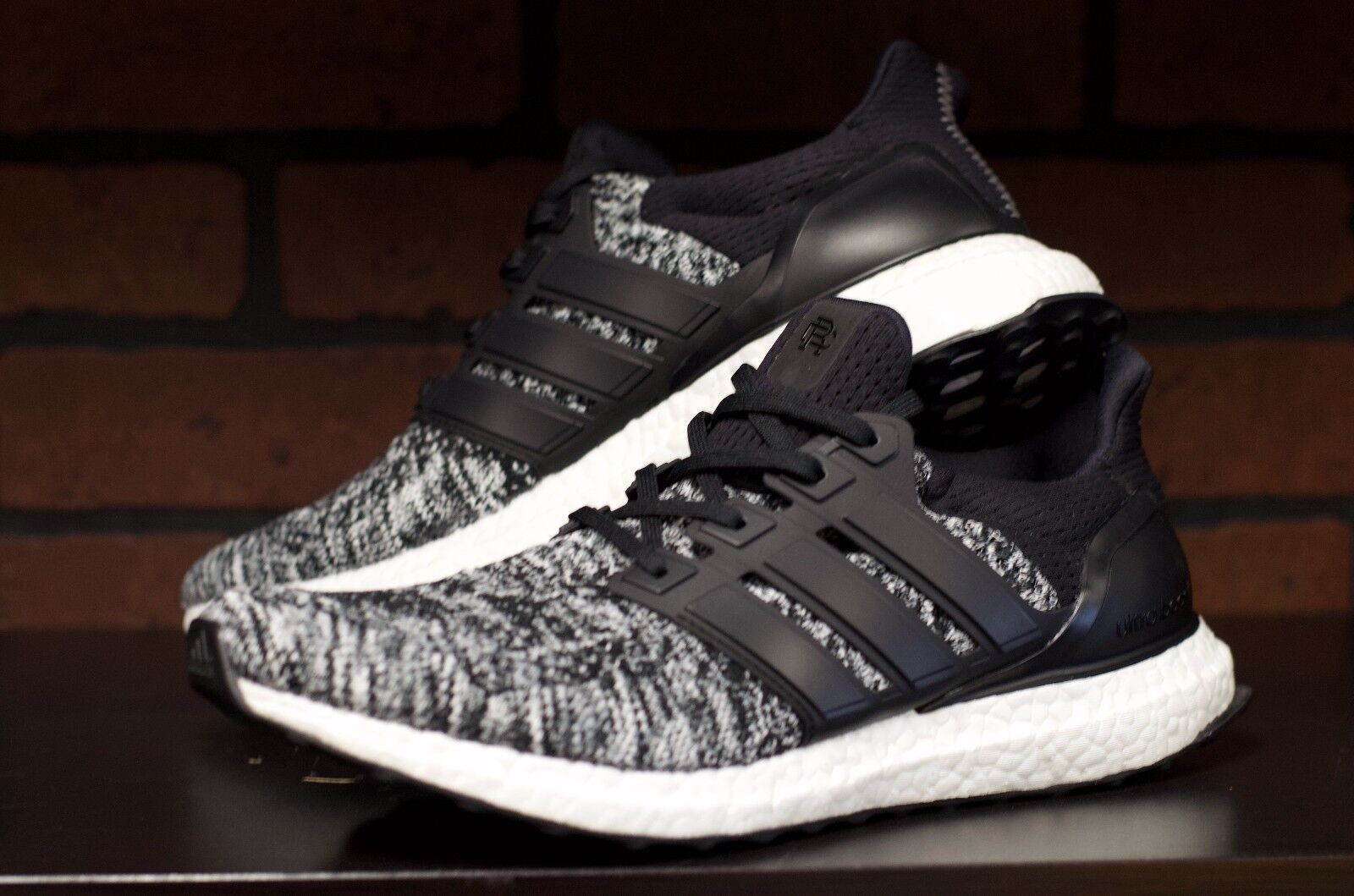 Adidas x Reigning Champ Ultra Boost Black White Size 10.5