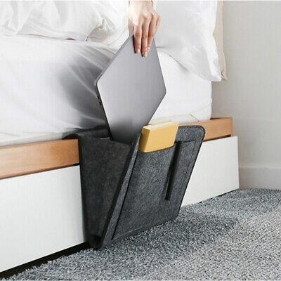 Sofa Storage Bag Home Book Holder Caddy Bedside Organizer Pocket Hanging Felt