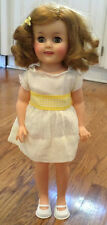 "Vintage Vinyl Shirley Temple Doll 1972 Ideal Toy Corp 14""Tall Dress"