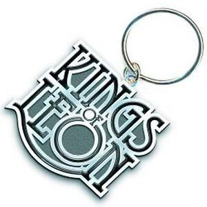 Kings Of Leon Band scroll logo Metall Silber Keychain Geschenk offiziellen