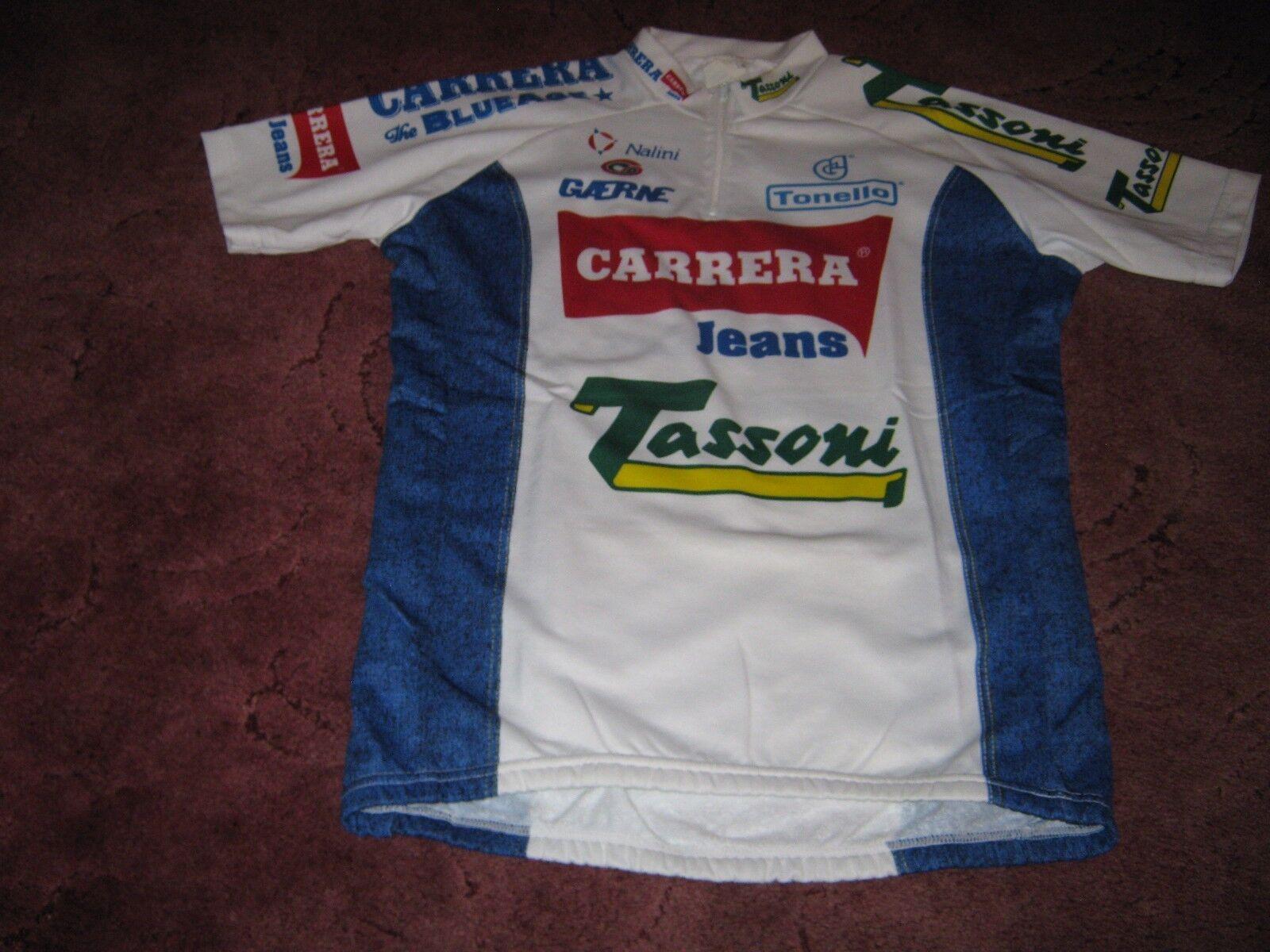 CARRERA TASSONI GAERNE 1994 NALINI ITALIAN  VINTAGE CYCLING JERSEY [5]  at cheap