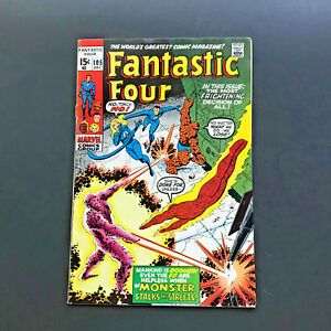 Fantastic-Four-105-Comic-Book-Very-Fine-Condition