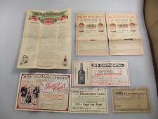 HAL-WIN Distilling Company IW Harper Shaw's Malt Whiskey Advertising Price List