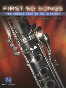 First-50-Songs-You-Should-Play-On-The-Clarinet-Sheet-Music-Book-Classical-Jazz